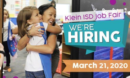 Join us for the Klein ISD Job Fair Saturday, March 21, 2020