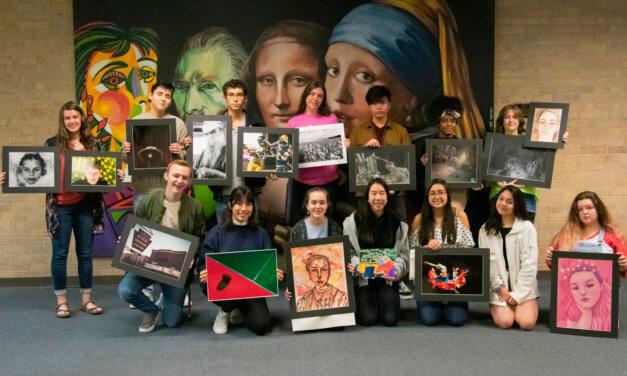 Klein Oak High School Students Bring Home 22 Regional Scholastic Art Awards