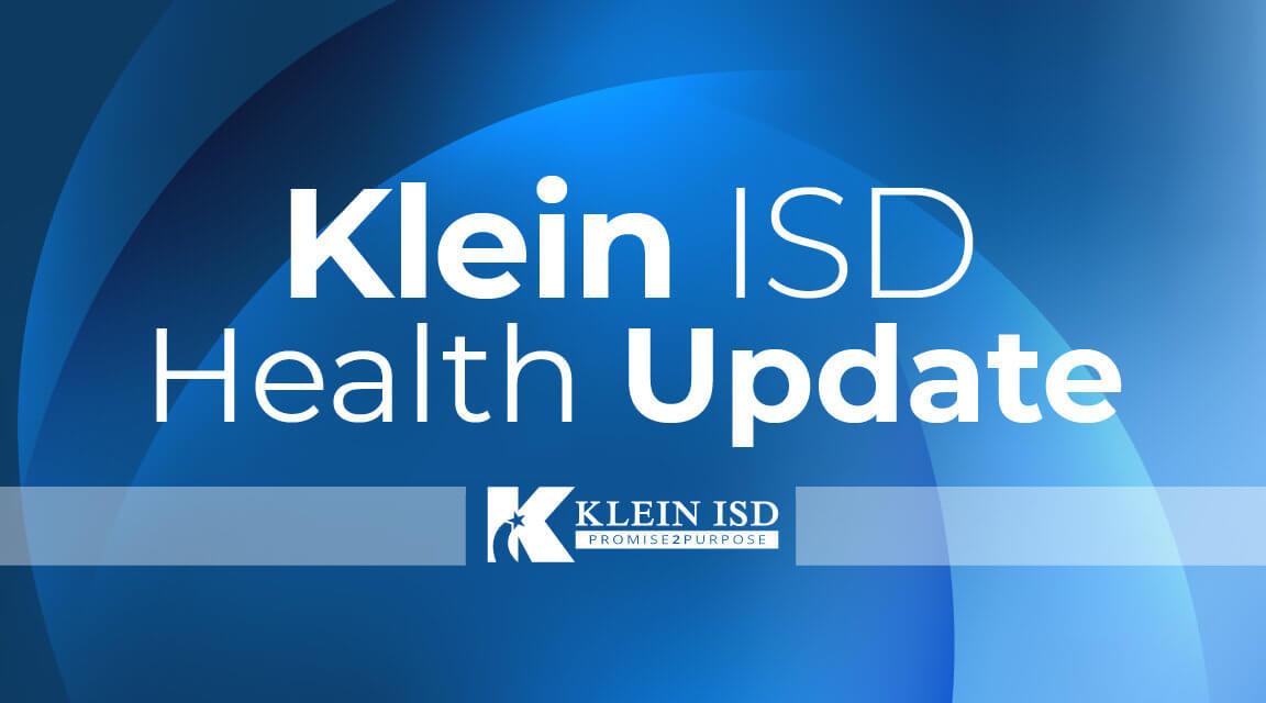 Update #1 – Klein ISD COVID-19