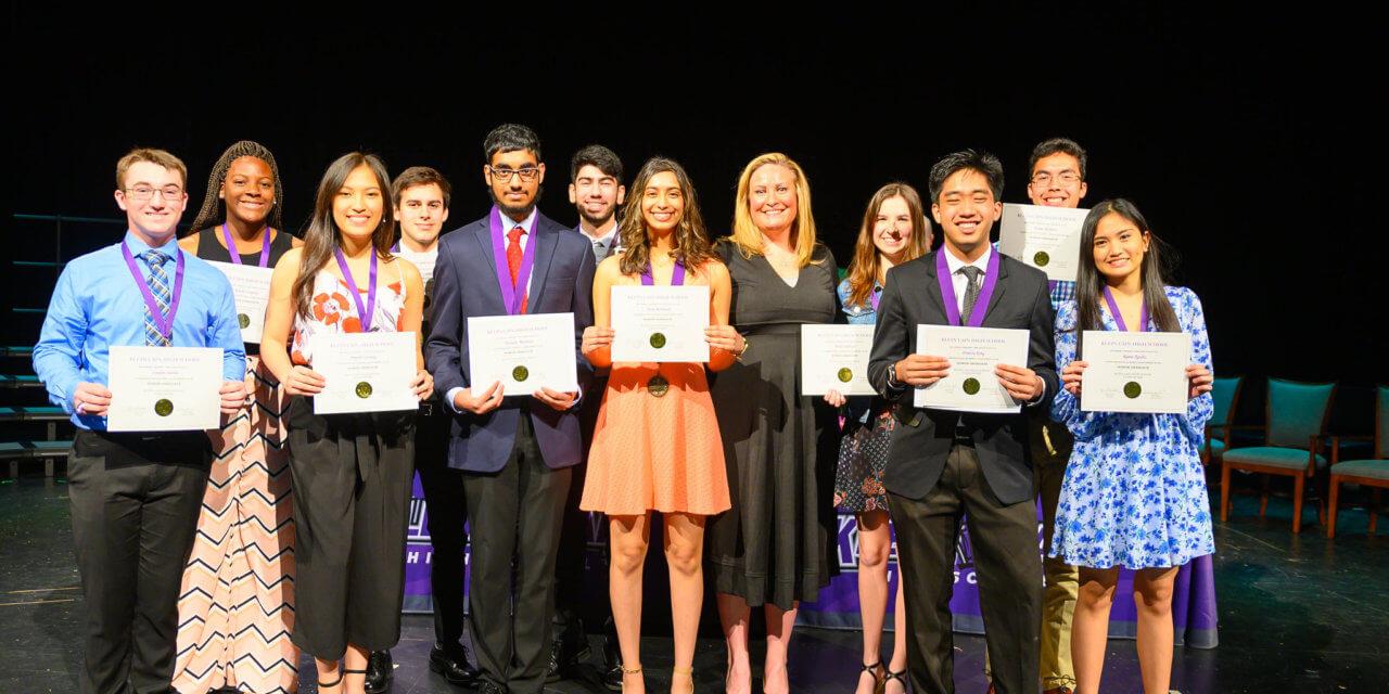 Klein Cain Announces Top 10 Percent of Inaugural Class of Graduating Seniors