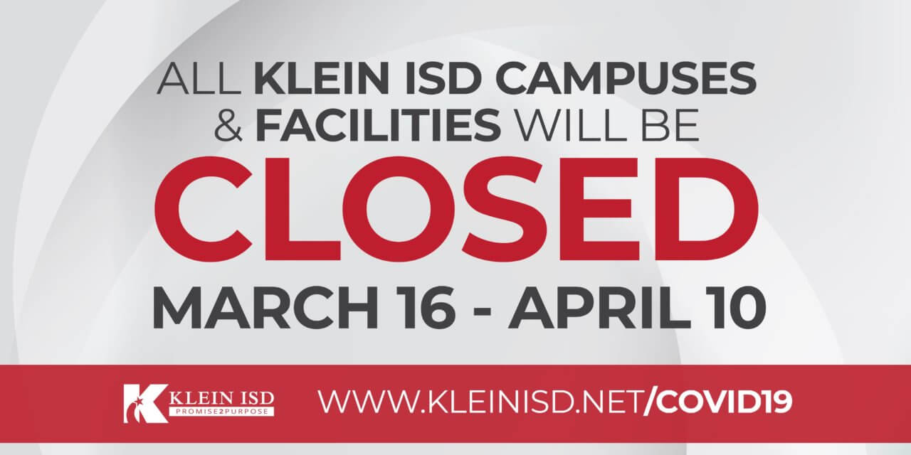 Update #9 – Klein ISD COVID-19