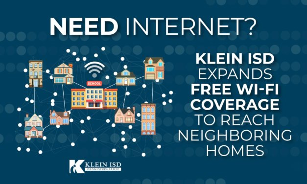 Klein ISD Expands FREE WiFi Coverage to Reach Neighboring Homes
