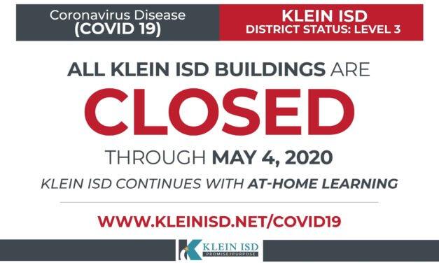 Update #17 – Klein ISD COVID-19