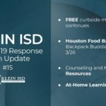 Update #15 – Klein ISD COVID-19