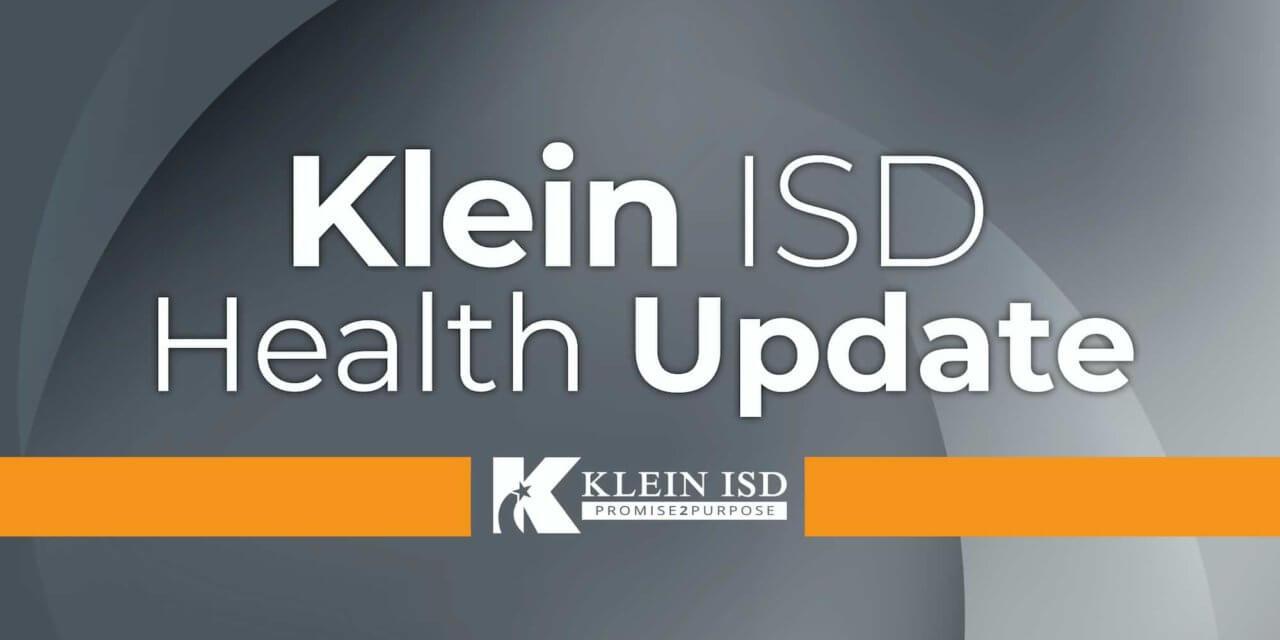 Update #5 – Klein ISD COVID-19