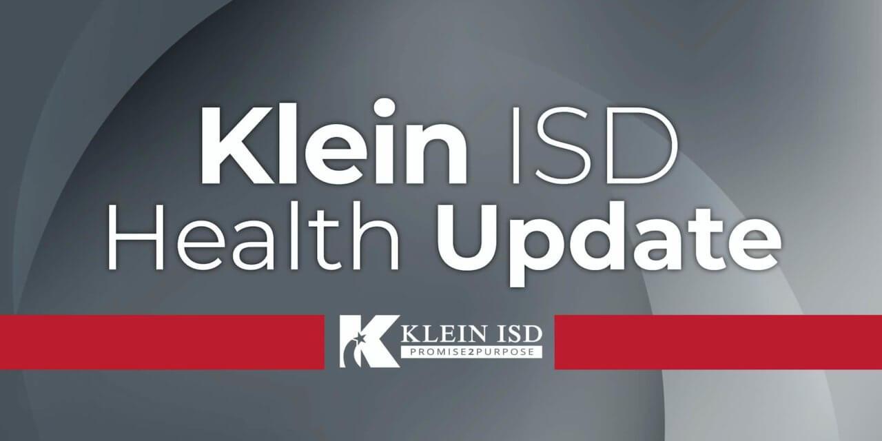 Update #6 – Klein ISD COVID-19