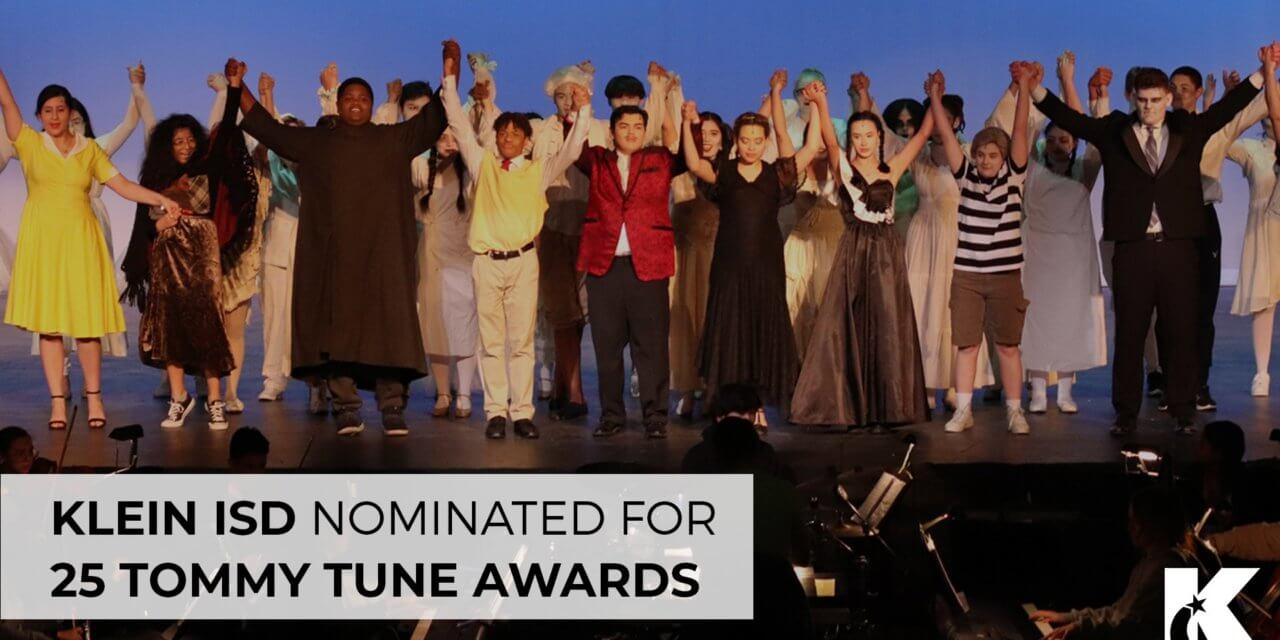 Klein ISD Nominated for 25 Tommy Tune Awards