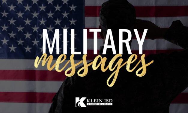 Help Us Celebrate Future Military Men and Women