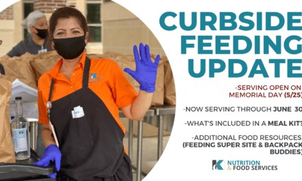 Klein ISD Nutrition and Food Services Curbside Feeding Update