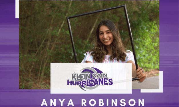 Klein Cain Senior Scholar Spotlight – Anya Robinson