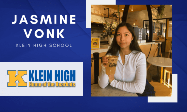 Klein High Senior Scholar Spotlight – Jasmine Vonk