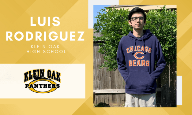 Klein Oak Senior Scholar Spotlight – Luis Rodriguez