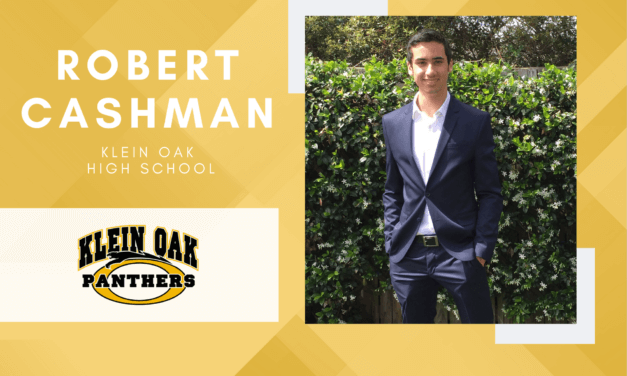 Klein Oak Senior Scholar Spotlight – Robert Cashman