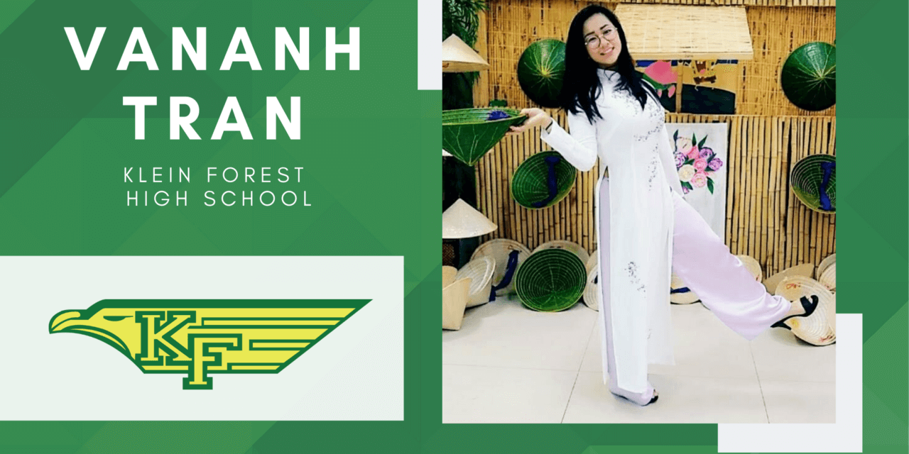 Klein Forest Senior Scholar Spotlight – VanAnh Tran