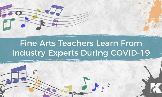 Fine Arts Teachers Learn From Industry Experts During COVID-19