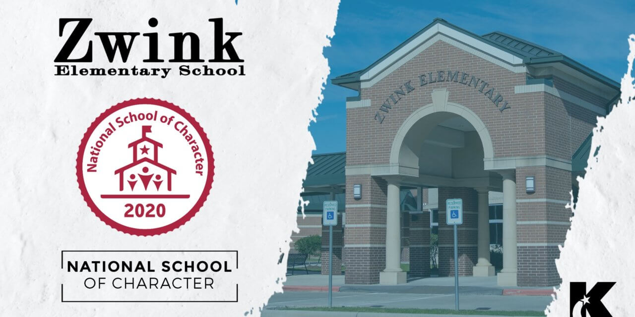 Zwink Elementary Named 2020 National School of Character