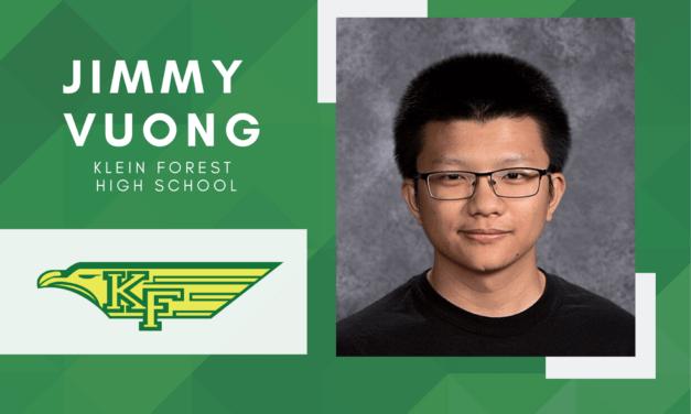 Klein Forest Senior Scholar Spotlight – Jimmy Vuong