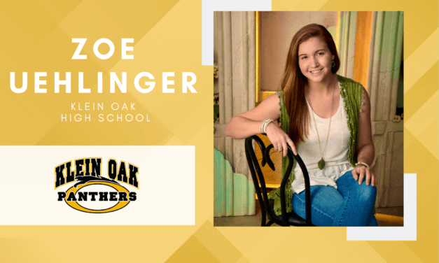 Klein Oak Senior Spotlight – Zoe Uehlinger