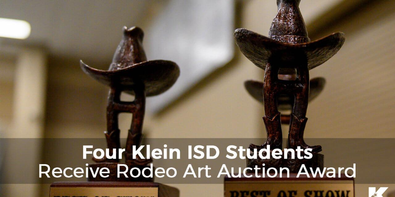 Four Klein ISD Students Receive Rodeo Art Auction Award