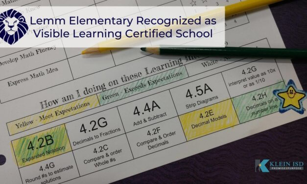 Lemm Elementary Recognized as Visible Learning Certified School
