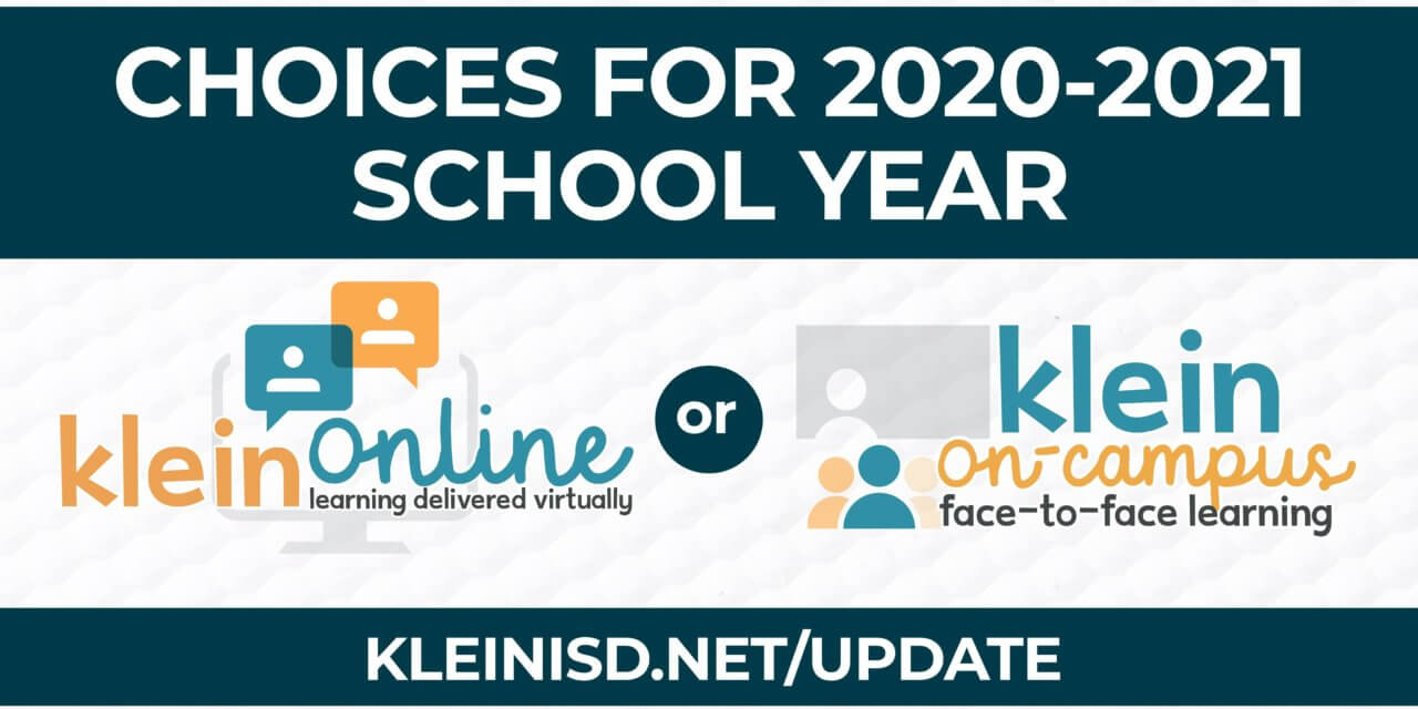 Update #4: Roadmap to Reopening Klein ISD