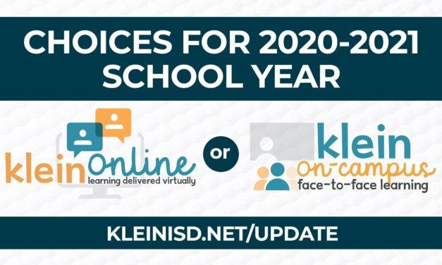 Update #5: Roadmap to Reopening Klein ISD