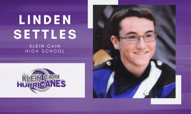 Klein Cain Senior Scholar Spotlight – Linden Settles