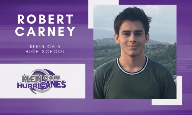 Klein Cain Senior Scholar Spotlight – Robert Carney