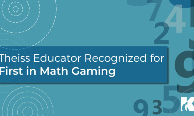 Theiss Educator Recognized for First in Math Gaming