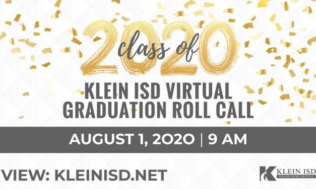 Class of 2020 Virtual Roll Call