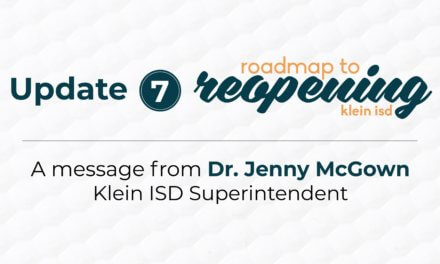 Update 7: Roadmap to Reopening Klein ISD