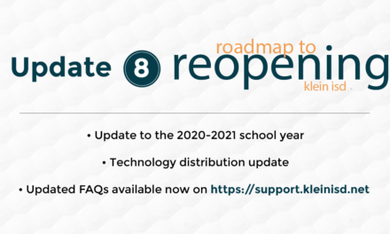 Update #8: Roadmap to Reopening Klein ISD