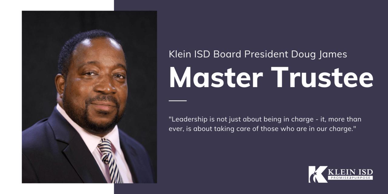 Klein ISD Board of Trustees President Earns Master Trustee Designation