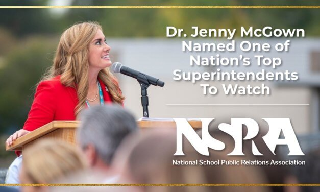Dr. Jenny McGown Named One of Nation's Top Superintendents To Watch