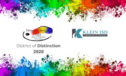 Klein ISD nombrado Distrito de Distinción de TAEA 2020