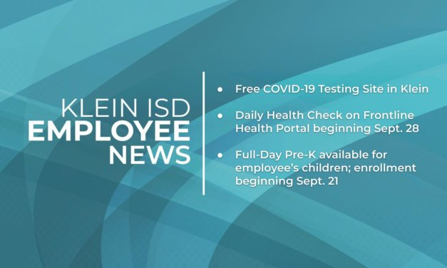 Employee News: COVID Info and Full-Day Pre-k for Employees' Children