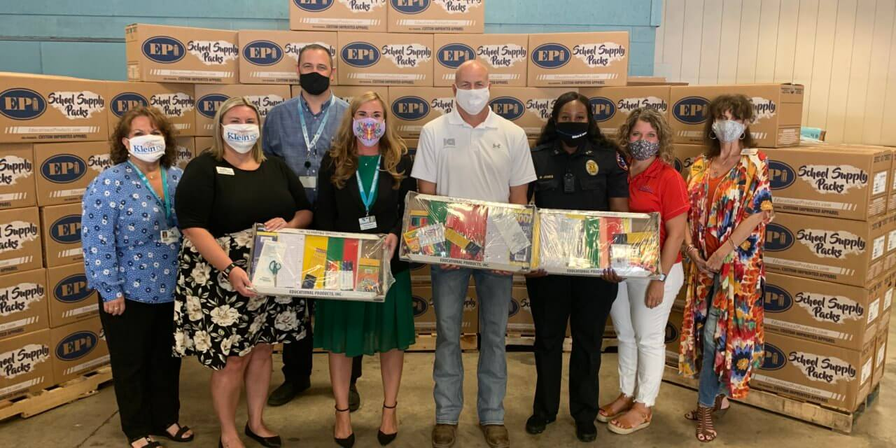 Donors Make a Difference With School Supply Donation