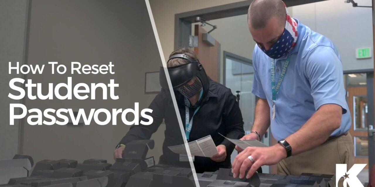 Klein ISD Student Password Reset Instructions