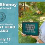 Klein High School Senior Receives Student Heroes Award