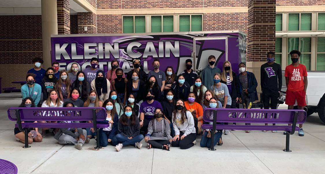 Klein Cain Student Council Hosts Hurricane Laura Relief Drive