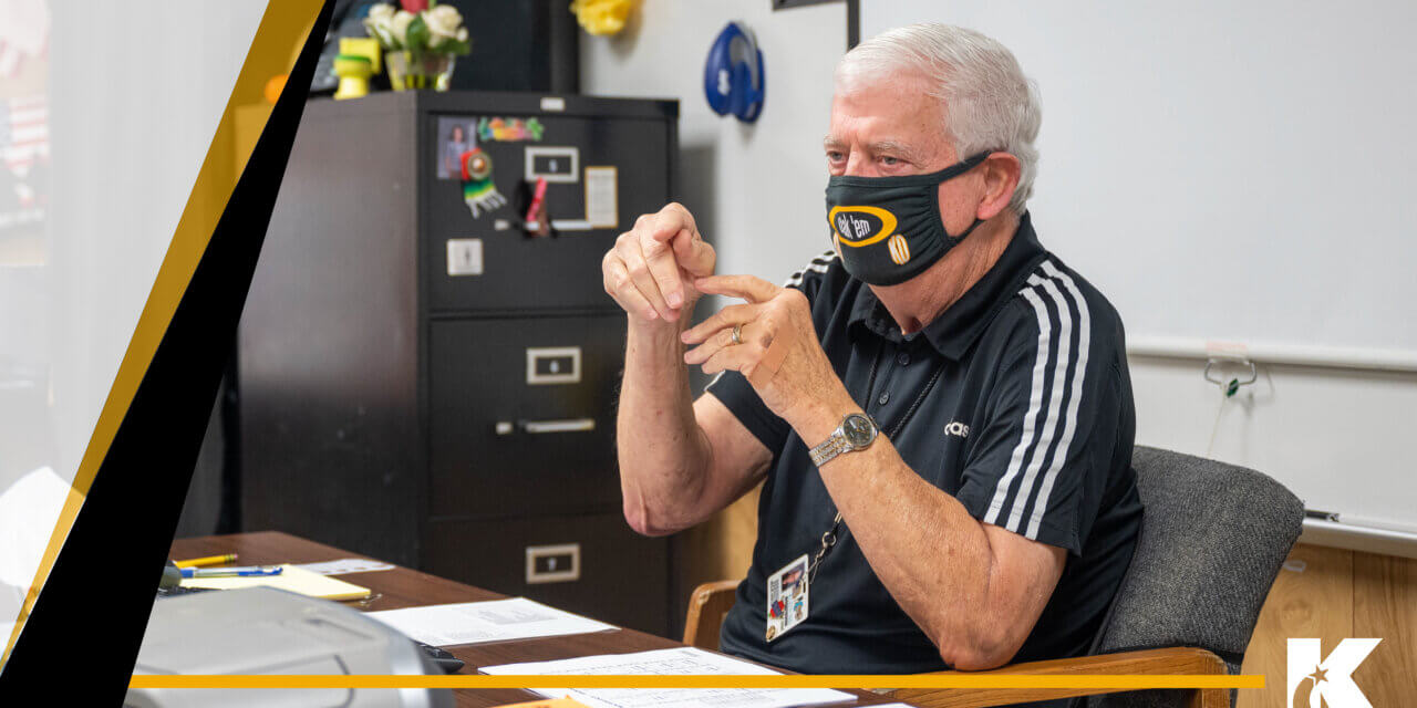 Klein Oak Teacher Begins His 50th School Year