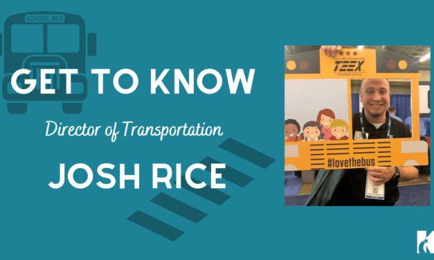 Meet Josh Rice: Klein ISD Director of Transportation