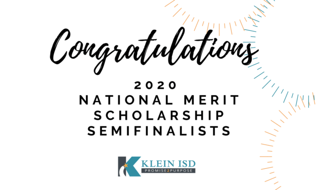 41 Klein ISD students recognized by National Merit Scholarship Corporation
