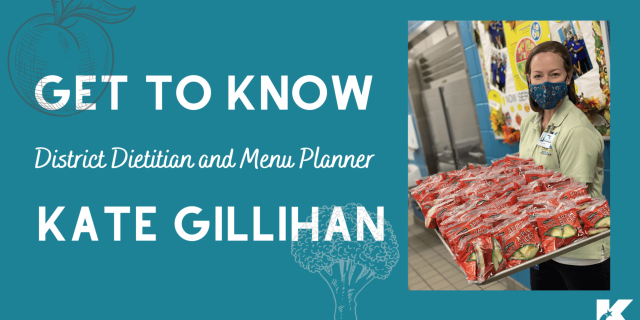 Meet Kate Gillihan: Klein ISD Dietitian and Menu Planner