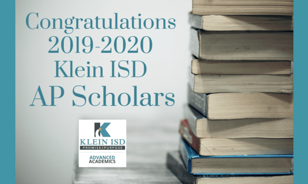 682 Klein ISD Students Named AP Scholars