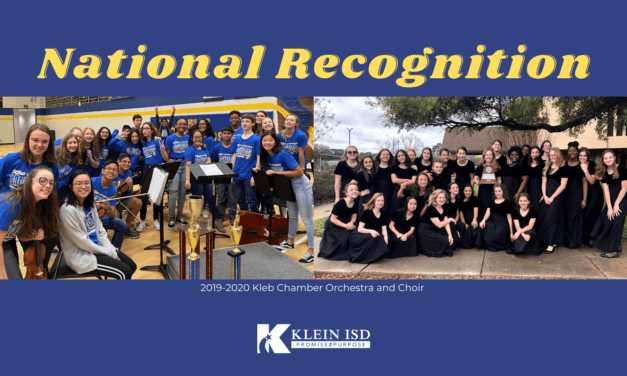 Klein ISD Campus Receives National Fine Arts Recognition