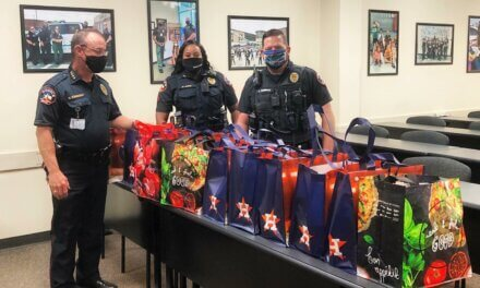 Klein Police Department Donates to Thanksgiving Food Basket Drive