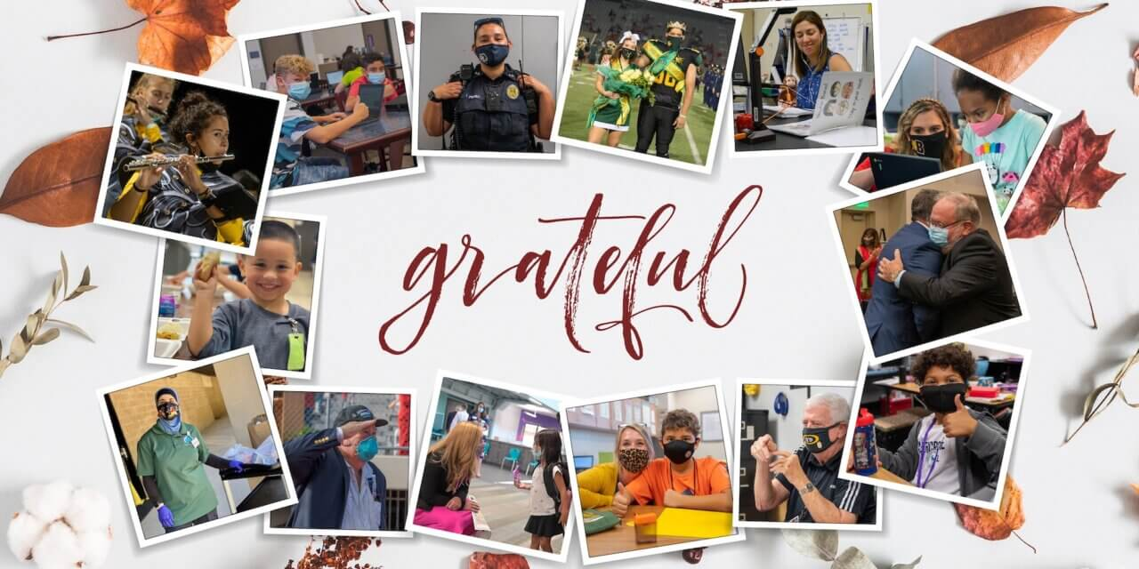 Thanksgiving Break and Gratitude