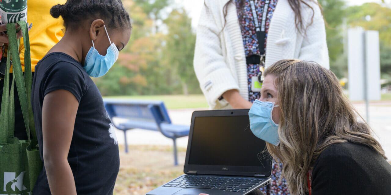 20 Klein ISD Families Receive Personal Laptop Donation