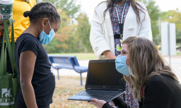 20 Klein ISD Families Receive Personal Laptop Donation